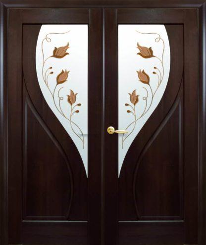 2 двустворчатая распашная дверь Прима Новый стиль