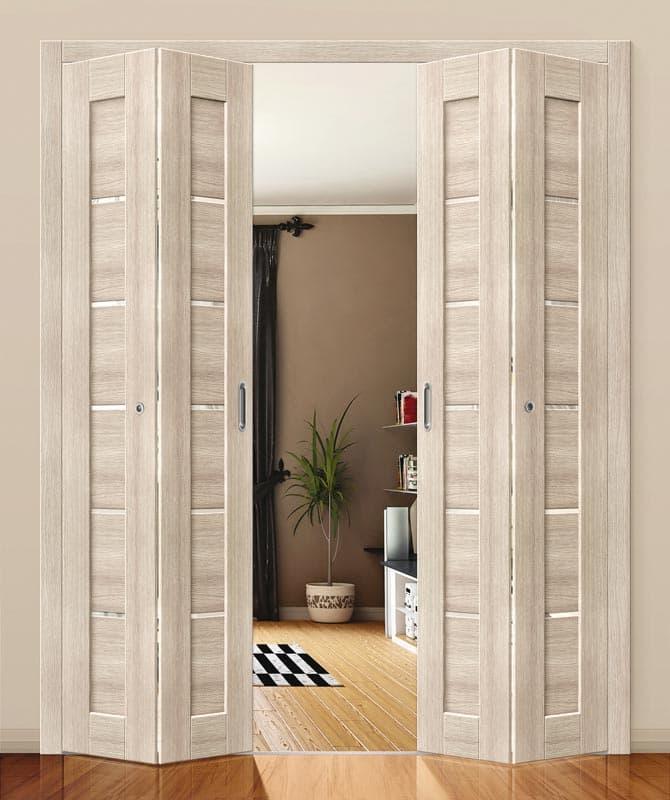 Складные двери книжка Опима порте