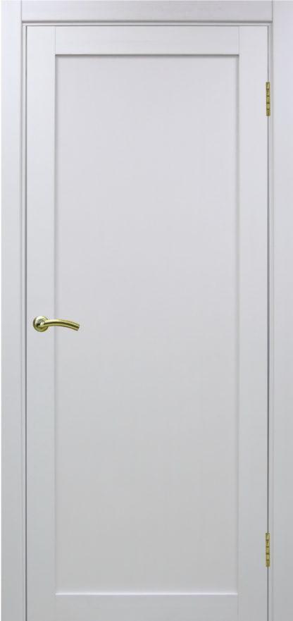Фото Дверное полотно Турин 501.1 Цвет белый монохром
