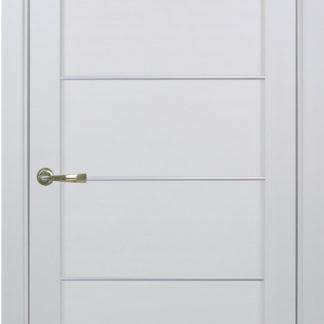 Фото Дверное полотно Турин 501 АПП с молдингом SC Цвет белый монохром