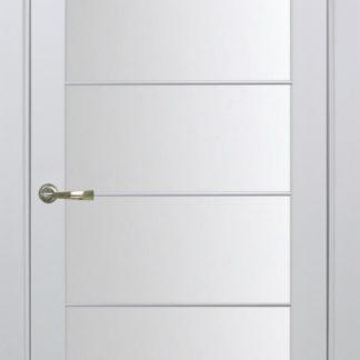 Фото Дверное полотно Турин 501 АСС с молдингом SC Цвет белый монохром