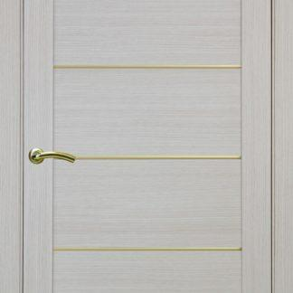 Фото Дверное полотно Турин 501 АПП с молдингом SG Цвет беленый дуб