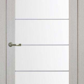 Фото Дверное полотно Турин 501 АСС с молдингом SC Цвет беленый дуб