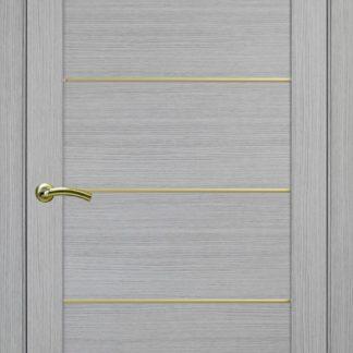 Фото Дверное полотно Турин 501 АПП с молдингом SG Цвет серый дуб