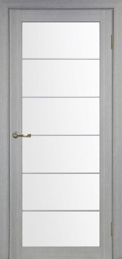 Фото Дверное полотно Турин 501 АСС с молдингом SC Цвет серый дуб
