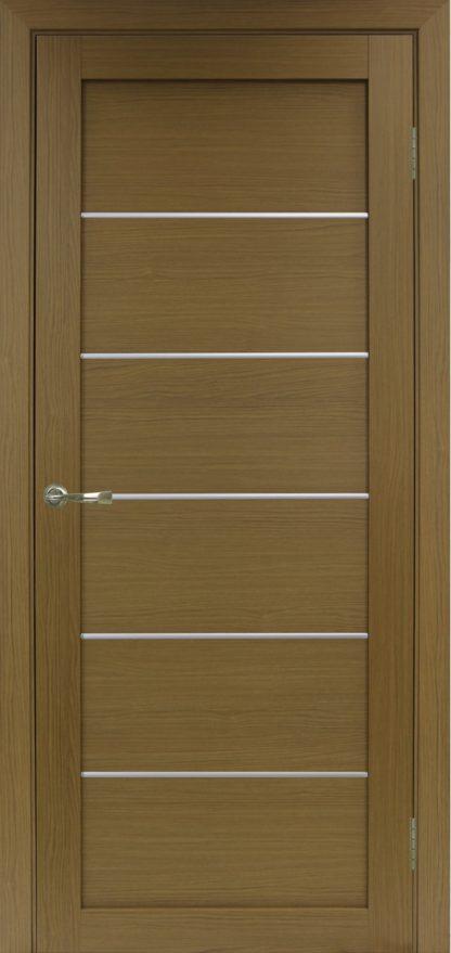 Фото Дверное полотно Турин 501 АПП с молдингом SC Цвет орех классик