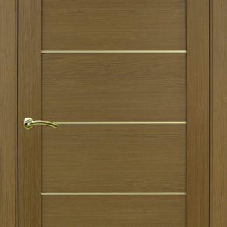 Фото Дверное полотно Турин 501 АПП с молдингом SG Цвет орех классик