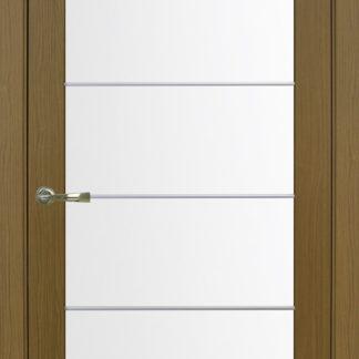 Фото Дверное полотно Турин 501 АСС с молдингом SC Цвет орех классик