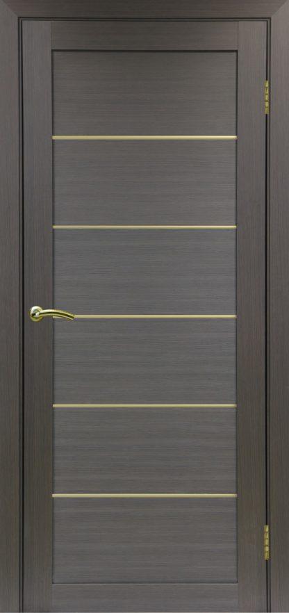 Фото Дверное полотно Турин 501 АПП с молдингом SG Цвет венге
