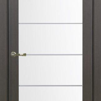 Фото Дверное полотно Турин 501 АСС с молдингом SC Цвет венге