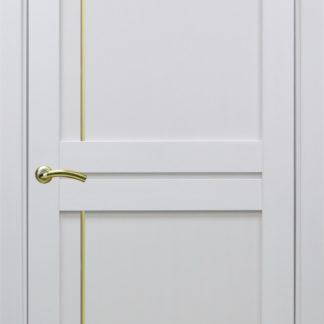 Фото Дверное полотно Турин 523.111 Молдинг SC/SG Цвет белый монохром