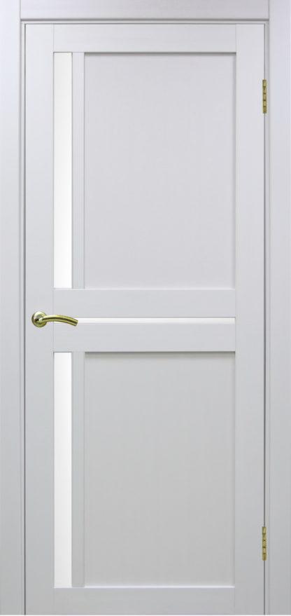 Фото Дверное полотно Турин 523.221 Цвет белый монохром