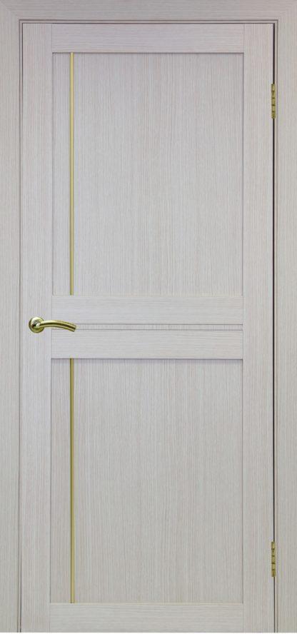Фото Дверное полотно Турин 523.111 Молдинг SC/SG Цвет беленый дуб