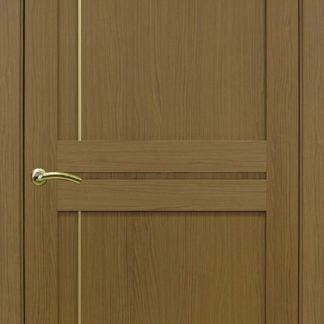 Фото Дверное полотно Турин 523.111 Молдинг SC/SG Цвет орех классик