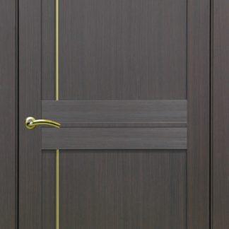 Фото Дверное полотно Турин 523.111 Молдинг SC/SG Цвет венге