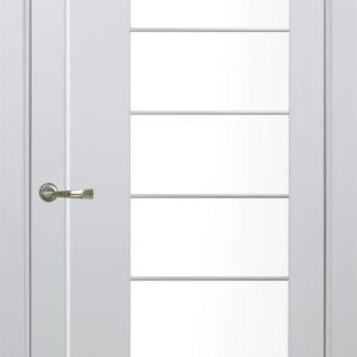 Фото Дверное полотно Турин 524 АСС Молдинг SC/SG Цвет белый монохром