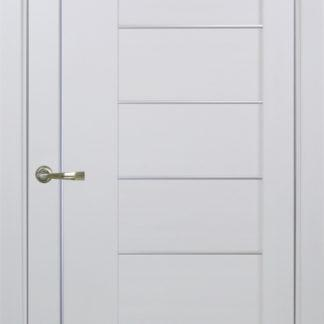Фото Дверное полотно Турин 524 АПП Молдинг SC/SG Цвет белый монохром