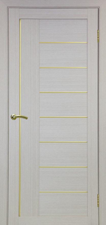 Фото Дверное полотно Турин 524 АПП Молдинг SC/SG Цвет беленый дуб