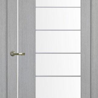 Фото Дверное полотно Турин 524 АСС Молдинг SC/SG Цвет серый дуб