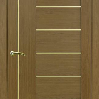 Фото Дверное полотно Турин 524 АПП Молдинг SC/SG Цвет орех классик