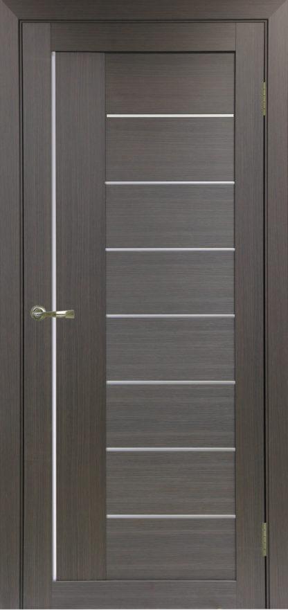Фото Дверное полотно Турин 524 АПП Молдинг SC/SG Цвет венге