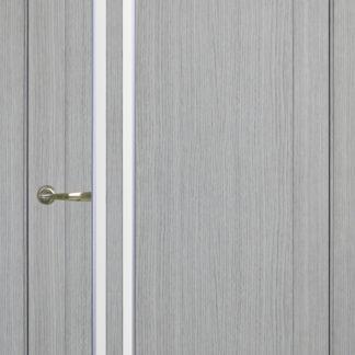Фото Дверное полотно Турин 525 АПС Молдинг SC/SG Цвет серый дуб