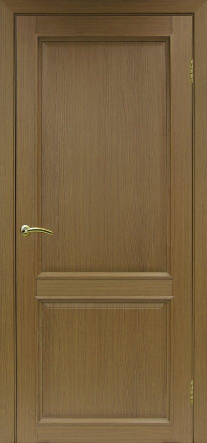 Фото Дверное полотно Тоскана 602.11 Цвет орех классик