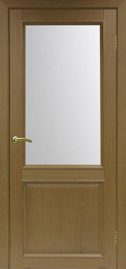 Фото Дверное полотно Тоскана 602.21 Цвет орех классик