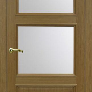 Фото Дверное полотно Тоскана 630.221 Цвет орех классик