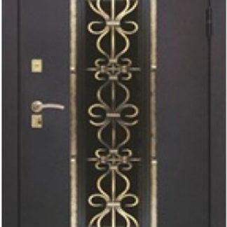 Фото Дверь входная металлическая «Венеция 3» венге