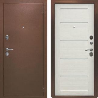 Фото Дверь входная металлическая «Вена» лиственница белая