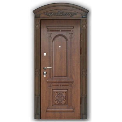 Фото Дверь входная с объемной фрезеровкой А-13
