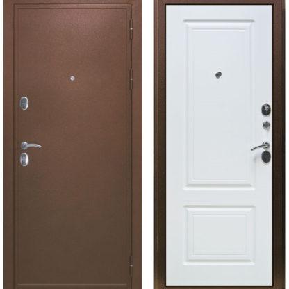 Фото Дверь входная металлическая «Дипломат» белый ясень