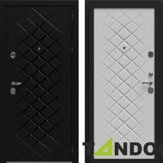 Фото Дверь входная металлическая «Урбан» Роял вуд черный