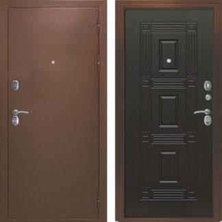 Фото Дверь входная металлическая «Адель» венге