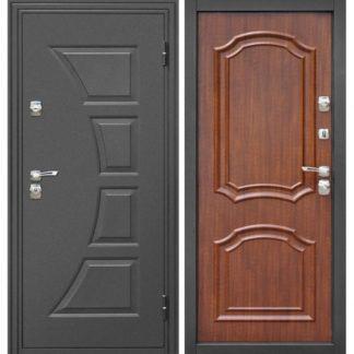 Фото Дверь входная металлическая «Парус» Темный орех
