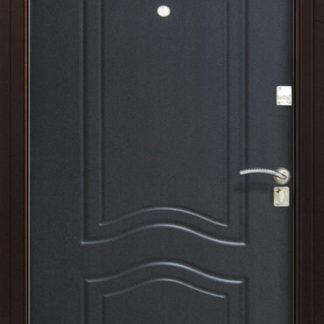 Фото Дверь входная металлическая «Аврора» ясень белый