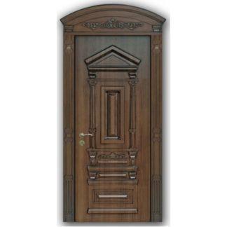 Фото Дверь входная с объемной фрезеровкой А-23