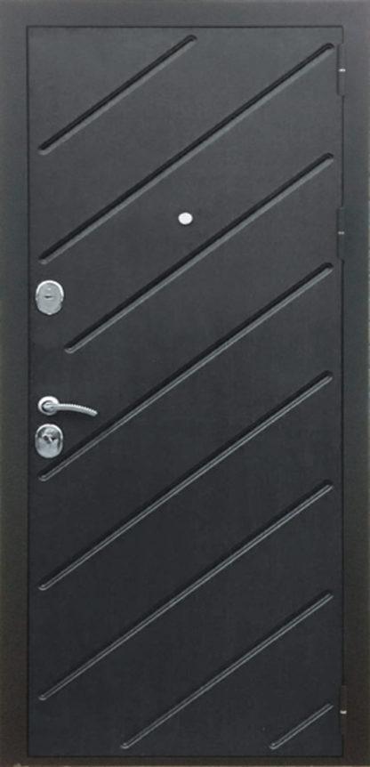 Дверь входная металлическая «Диагональ» софт айс