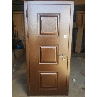 Фото Дверь входная металлическая уличная «Квадрат»