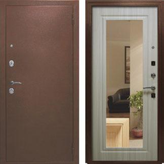 Фото Дверь входная металлическая «Кристалл» сандал светлый