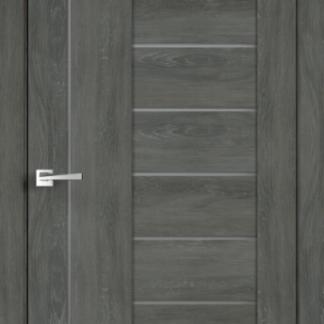 Фото Дверное полотно Duplex 3 Дуб шале графит Мателюкс