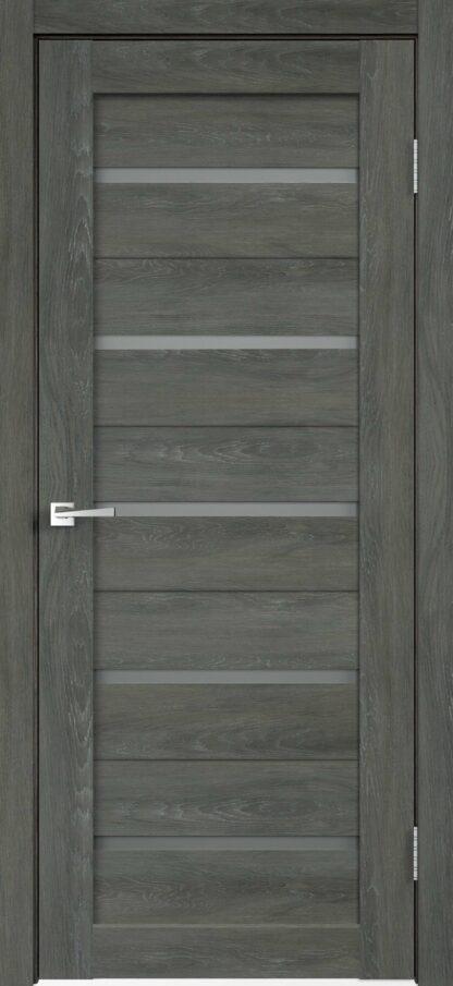 Фото Дверное полотно Duplex глухое Дуб шале графит