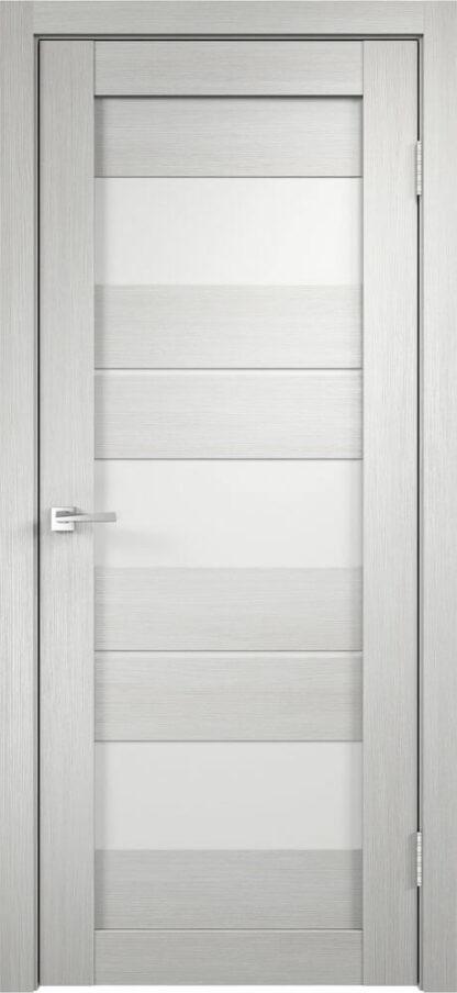 Фото Дверное полотно Duplex 12 Дуб белый Мателюкс