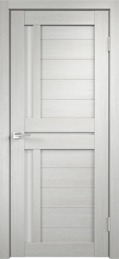 Фото Дверное полотно Duplex 3 Дуб белый Мателюкс