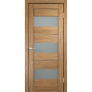 Фото Дверное полотно Duplex 12 Дуб золотой Мателюкс
