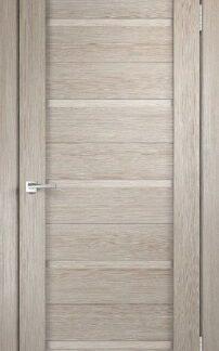 Фото Дверное полотно Duplex глухое Дуб шале седой