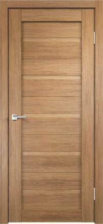 Фото Дверное полотно Duplex глухое Дуб золотой