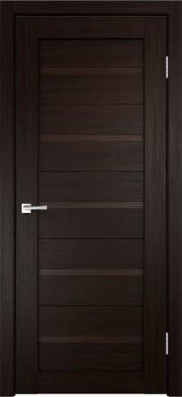 Фото Дверное полотно Duplex глухое Венге