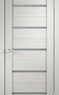 Фото Дверное полотно Duplex Дуб белый Мателюкс